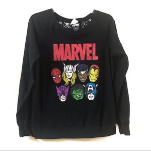 Marvel | Reversible Superhero Sweatshirt